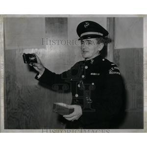 1941 Press Photo Lt. Charles Popp Marine - RRX54839