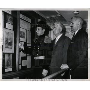 1961 Press Photo Charles Weishaup Civil War uniform - RRW65563