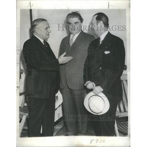 1936 Press Photo John Llewellyn Lewis