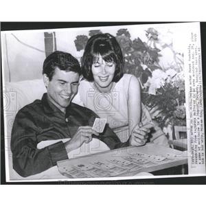 1961 Press Photo German Actor Hurst Buchholz - RRX98505