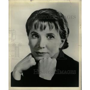1965 Press Photo Julie Harris Actress - RRW20499