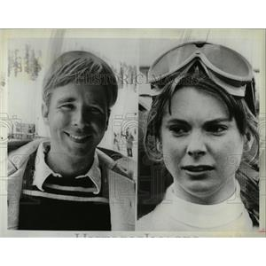 1980 Press Photo Actors Beau Bridges, Marilyn Hassett - RRW07937