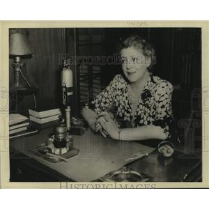 Press Photo Ethel Barrymore, American actress. - sap11429