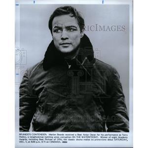 1996 Press Photo Marlon Brando American Actor. - RRU45435