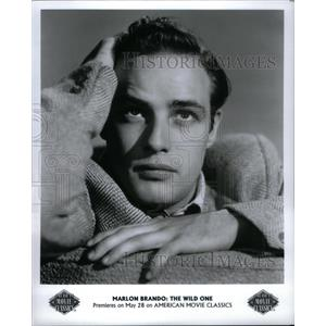 1996 Press Photo Marlon Brando Actor Wild One - RRU45441