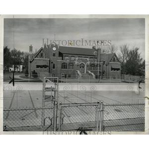 1954 Press Photo Arlington Height Village Park Virginia