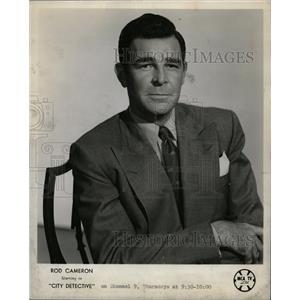 1955 Press Photo Rod Cameron Westerns - RRW20229