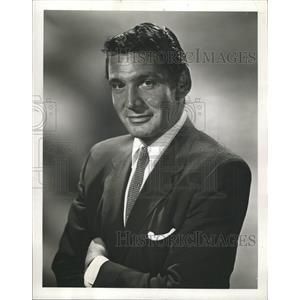 1960 Press Photo Gene Barry Actor Bat Masterson - RRW26451