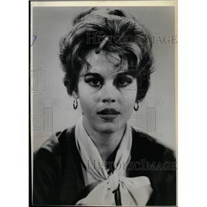 1963 Press Photo Jane Fonda People Other Animals TV - RRW18561