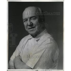 1968 Press Photo William Clement Frawley Actor - RRW19045