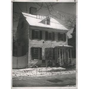 1937 Press Photo Home Of Labor Chief John Lewis Boycotted By Neighbor