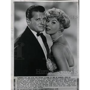 1959 Press Photo Actors Gordon And Shelia MacRae - RRW98735