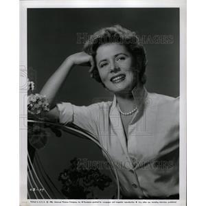 1956 Press Photo Cornell Borchers German actress Errol - RRW18693