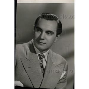 1952 Press Photo Milton Ross comedian - RRW76449