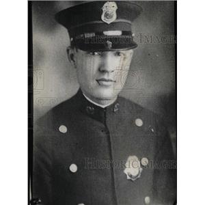 1930 Press Photo Thompson Haney Police Officer Chicago - RRW97989