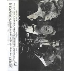 1965 Press Photo Geraldine Page Glenn Ford Hal Smith - RRX92835