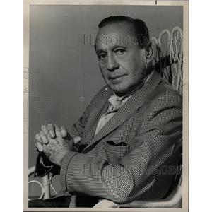 1968 Press Photo Jack Benny American comedian Radio - RRW21429