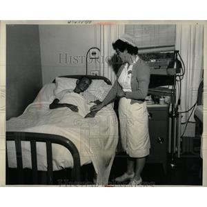 1959 Press Photo Eaton Rapids Hospital Michigan