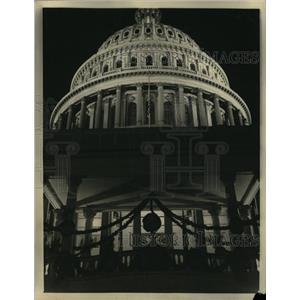 1933 Press Photo Capitol Hill Building Washington - RRX65037