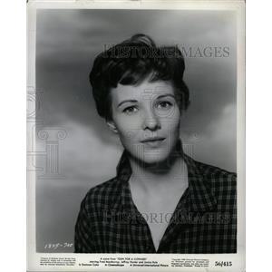 "1957 Press Photo Janice Rule ""Gun For A Coward"" - RRX73781"