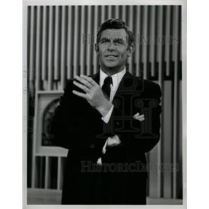 1969 Press Photo Andy Samuel Griffith American actor - RRW19583