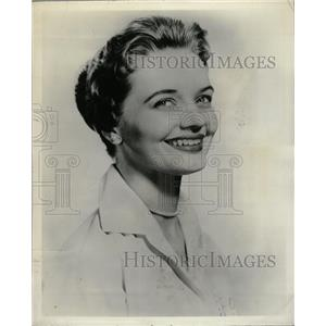 1958 Press Photo Florence Henderson Actress - RRW18641