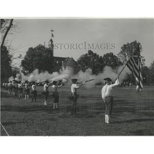 1962 Press Photo Colonial City Williamsburg Virginia - RRX85135