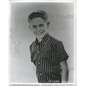 1959 Press Photo Rickey Kelman Dennis O'Keefe Show - RRW45759