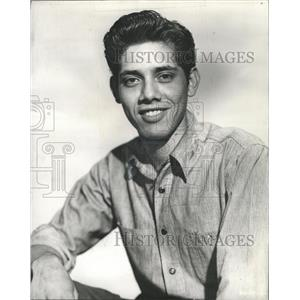 """1950 Press Photo Eduard """"Lalo"""" Rios, Mexican Actor - RRX88113"""