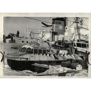 1972 Press Photo St. Ignace Coast Guard Mackinaw - RRW69961