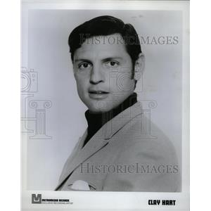 1969 Press Photo Clay Hart America Lawrence Welk Show - RRW11983