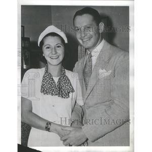 1937 Press Photo Elinor Harriot Feminine Roles Amos 'N' Andy Radio Program