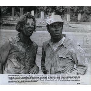 1977 Press Photo Richard Pryor Beau Bridges Actors Film - RRX75291