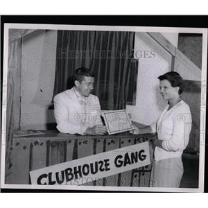 1956 Press Photo TV Show Clubhouse Gang - RRW07199