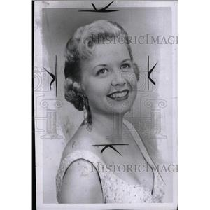 1956 Press Photo Actress Charmaine Harma - RRW72119