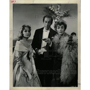 1990 Press Photo Rex Harrison Actor Sadra Des Kendil - RRW16013