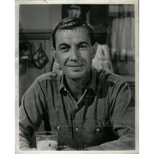 1961 Press Photo Hugh Reilly American Film TV Actor - RRX59697