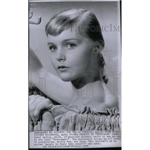 1959 Press Photo Carol Lynley Hollywood Teenage Actress - RRX47587
