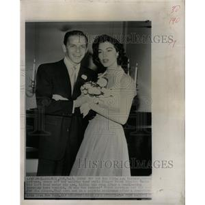 1951 Press Photo Ava Gardner Frank Sinatra - RRW20381