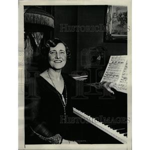 1930 Press Photo Earl Sande America Music Washington - RRW73203