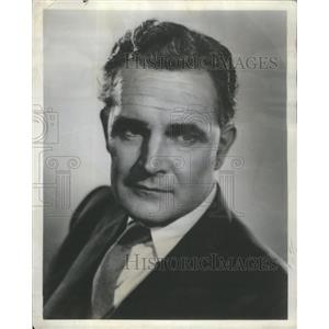 1957 Press Photo Donald Gray South African Film & Television Actor- RSA95943