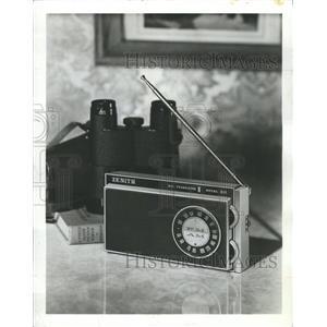 1966 Press Photo Transistor AM FM Symphonette Zenith - RRW51103