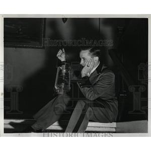 1937 Press Photo Bancroft Hotel in Saginaw Strike - RRW86879