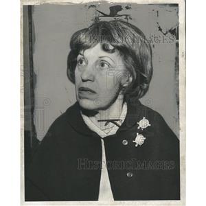 1963 Press Photo Lotte Lenya German Actress Singer - RRW33851