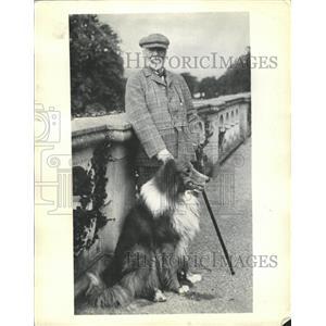 1935 Press Photo Andrew Carnegie Skibo Laird Wilson - RRX87061