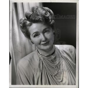 1948 Press Photo Actress Hedda Hopper - RRW12905