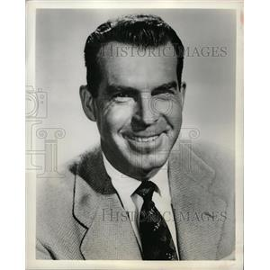 1960 Press Photo Fred MacMurray American Actor - RRW14537