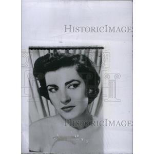 1955 Press Photo Irene Papas Actress Singer Hollywood - RRX45885
