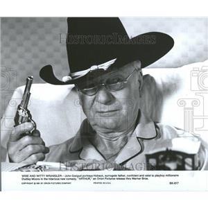 1981 Press Photo John Geilgud English Actor & Director. - RRV46319