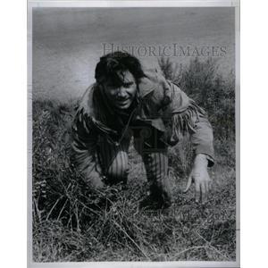 1956 Press Photo Scott Forbes Adventures Jim Bowie - RRX25511